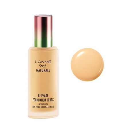 Lakme 9 to 5 Naturale Foundation Drops Ivory Cream 18 ml