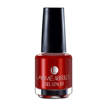 Lakme Absolute Gel Stylist Nail Color Red Lush