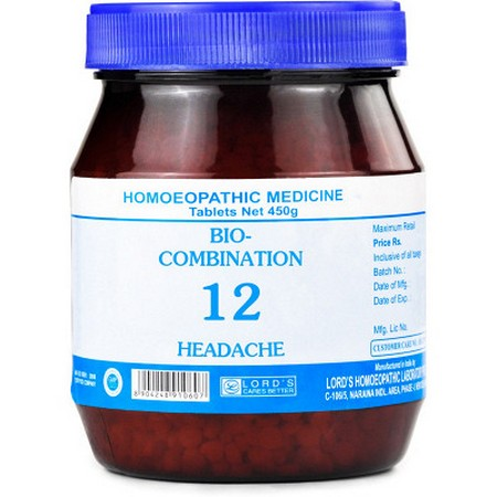 Lord's Bio Combination 12 Tablet
