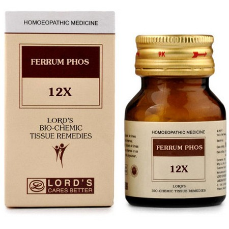 Lord's Ferrum Phos 12X