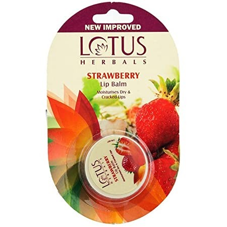 Lotus Herbals Lip Balm Strawberry and Raspberry