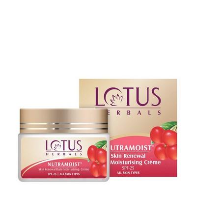 Lotus Herbals NUTRAMOIST Skin Renewal Daily Moisturising Cream SPF 25