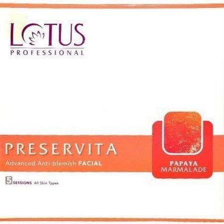Lotus Herbals Preservita Advanced Anti Blemish Facial Papaya Marmalade