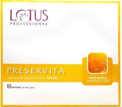 Lotus Herbals Preservita Advanced Sensitive Skin Facial Pineapple Marmalade