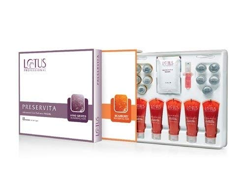 Lotus Herbals Preservita Advanced Skin Radiance Facial Vino Grapes Marmalade