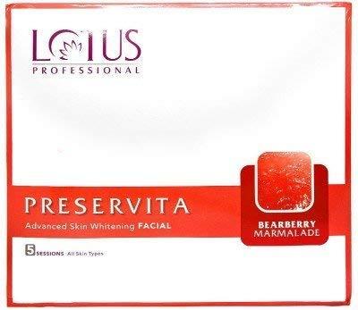 Lotus Professional Preservita Advanced Skin Whitening Facial Bearberry Marmalade