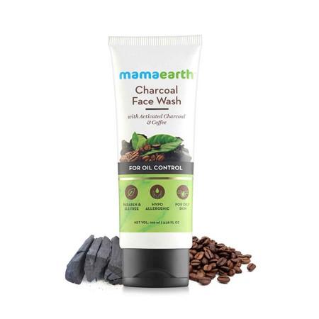 Mamaearth Charcoal Natural Face Wash
