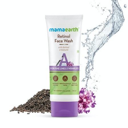 Mamaearth Retinol Face Wash with Retinol and Bakuchi