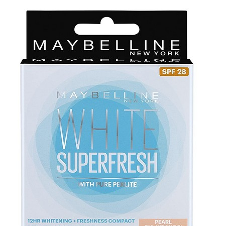 Maybelline New York White Super Fresh Compact Pearl 8 grams