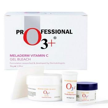 O3+ Meladerm Vitamin C Gel Bleach Set