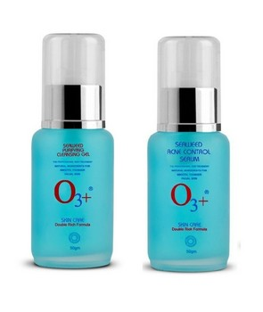O3+ Seaweed Purifying Cleansing Gel Serum Set