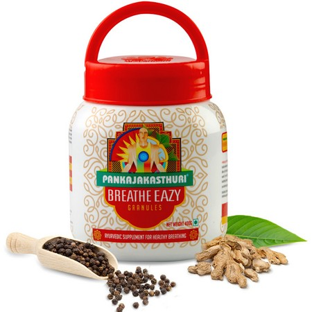 Pankajakasthuri Herbals Breathe Eazy Granules