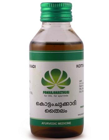 Pankajakasthuri Herbals Kottamchukkadi Thailam