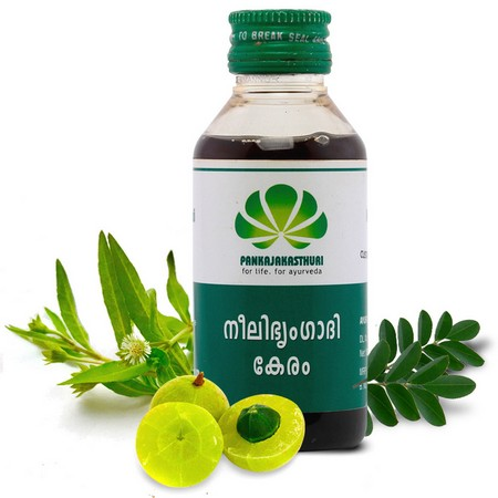 Pankajakasthuri Herbals Neelibhringadi Keram