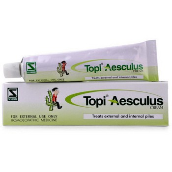 Schwabe Homeopathy Topi Aesculus Cream