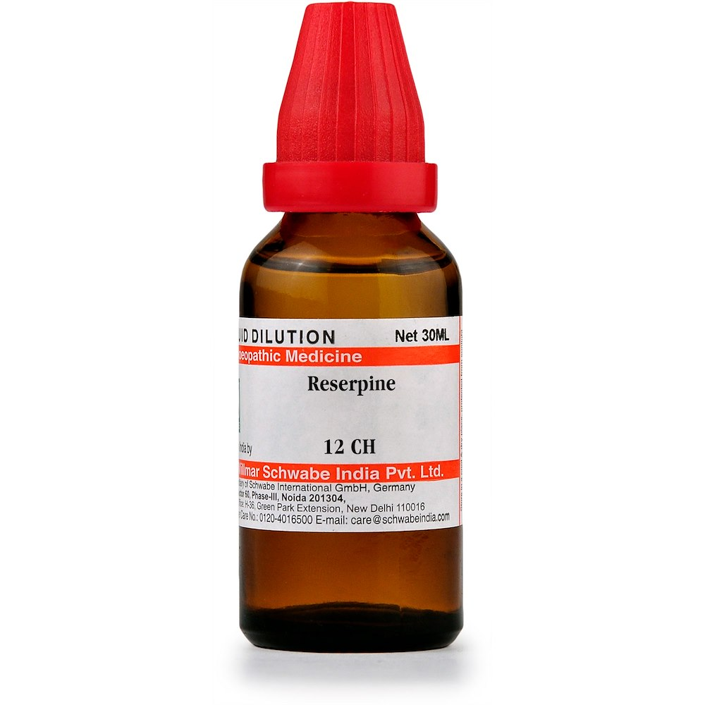 Schwabe Reserpine 12 CH Dilutions