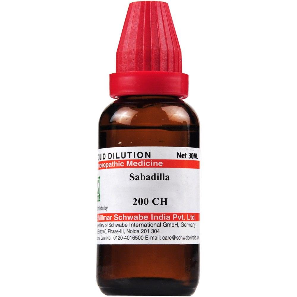Schwabe Sabadilla 200 CH Dilutions