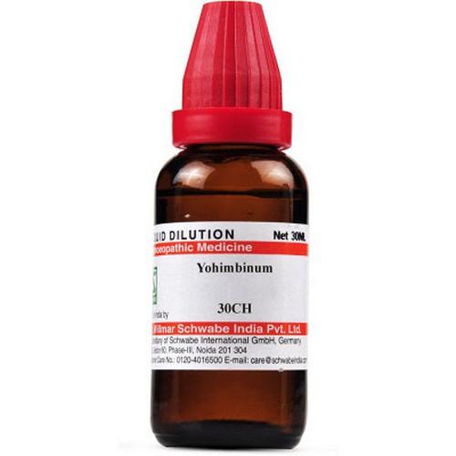 Schwabe Yohimbinum 30 CH Dilutions