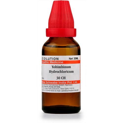 Schwabe Yohimbinum Hydrochloricum 30 CH Dilutions