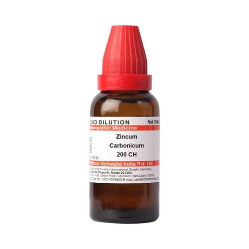 Schwabe Zincum Carbonicum 200 CH Dilutions