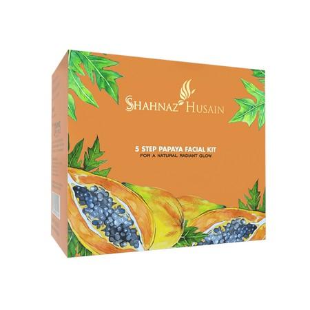 Shahnaz Husain 5 Step Papaya Facial Kit
