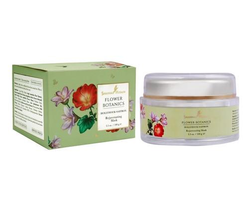 Shahnaz Husain Flower Botanics - Hollyhock-Saffron Rejuvenating Mask