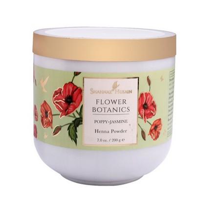 Shahnaz Husain Flower Botanics – Poppy-Jasmine Henna Powder
