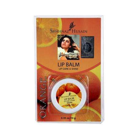 Shahnaz Husain Lip Balm Lip Care and Shine Orange