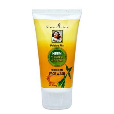 Shahnaz Husain Neem Turmeric Aloe Vera Germicidal Face Wash