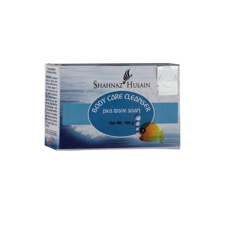 Shahnaz Husain Oxygen Sea Wave Soap Natural Body Cleanser