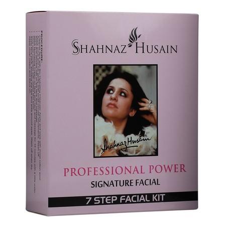 Shahnaz Husain Professional Power Signature Facial - 7 Step Facial Kit
