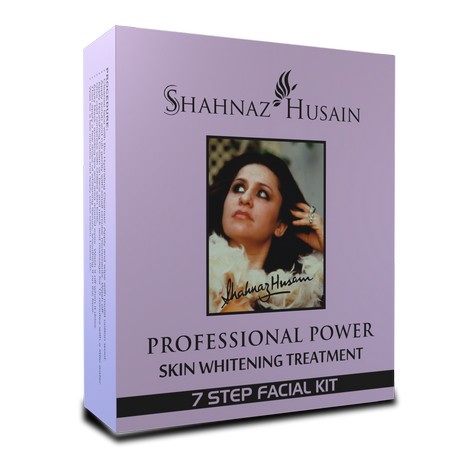 Shahnaz Husain Professional Power Skin Whitening Treatment 7 Steps Facial Kit