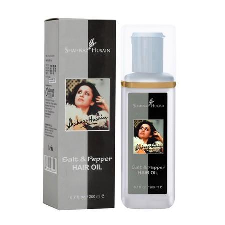Shahnaz Husain Salt and Pepper Hair Oil