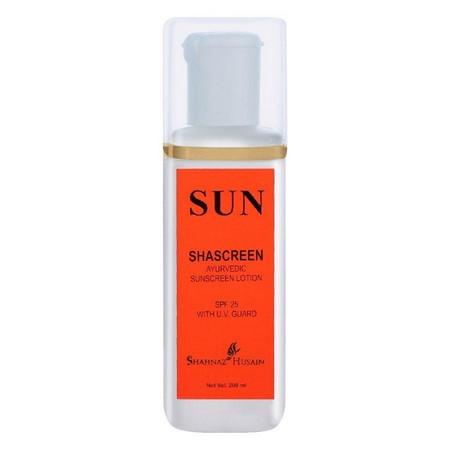 Shahnaz Husain Shascreen - Ayurvedic Sunscreen Lotion SPF-25 With UV Guard