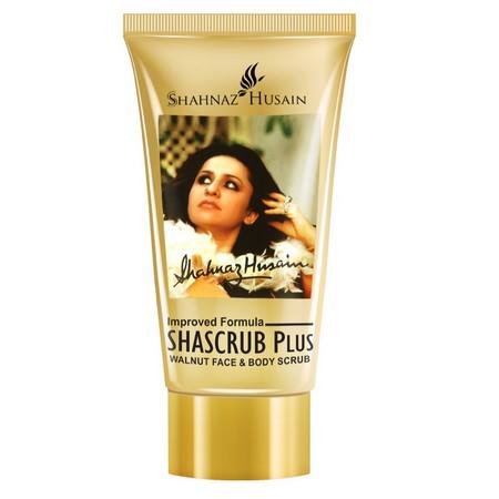 Shahnaz Husain Shascrub Plus - Walnut Face and Body Scrub