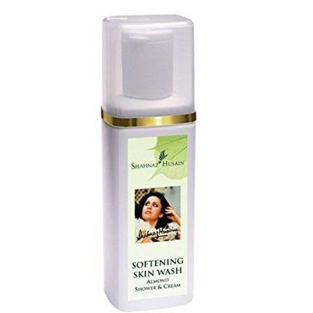 Shahnaz Husain Softening Skin Wash - Almond Shower and Cream