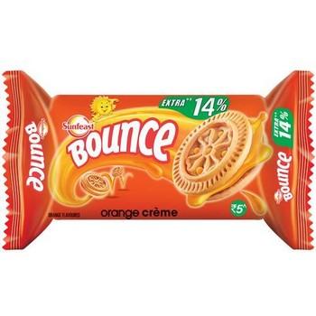 Sunfeast Bounce Biscuits Orange Creme Cookies