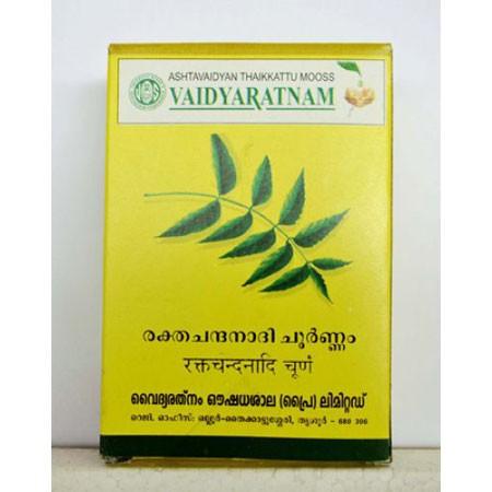 Vaidyaratnam Oushadhasala Rakthachandanadi Choornam
