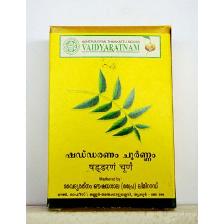 Vaidyaratnam Oushadhasala Shaddaranam Choornam