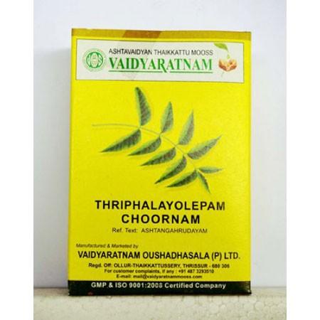 Vaidyaratnam Oushadhasala Triphalayolepam Choornam