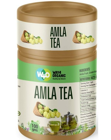 Way4Organic Amla Emblica officinalis Indian Gooseberry Fruit Tea