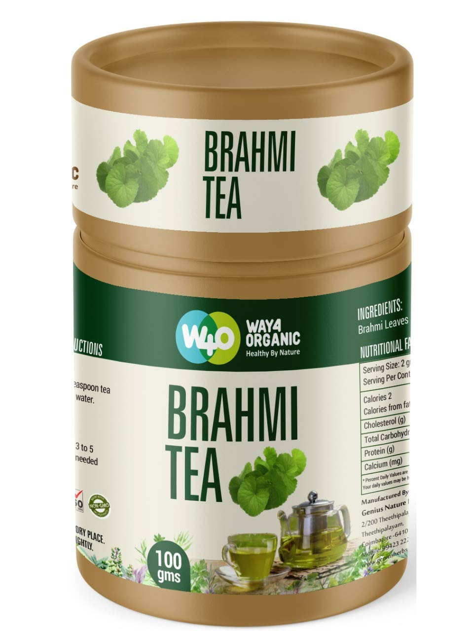Way4Organic Bhrami Tea
