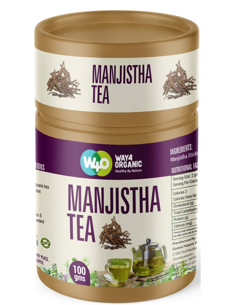 Way4Organic Manjistha Tea