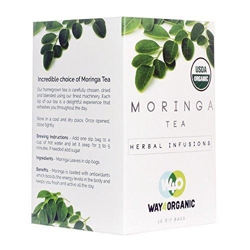 Way4Organic Moringa Tea Dip bags