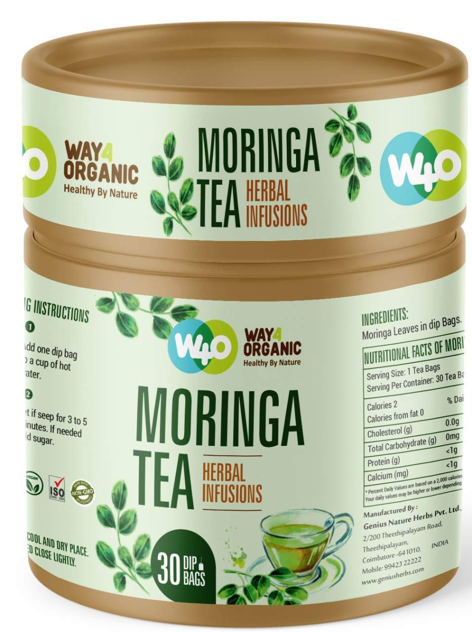Way4Organic Moringa Tea in Dip bags