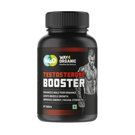 Way4Organic Testosterone Booster Supplement for Health and Energy