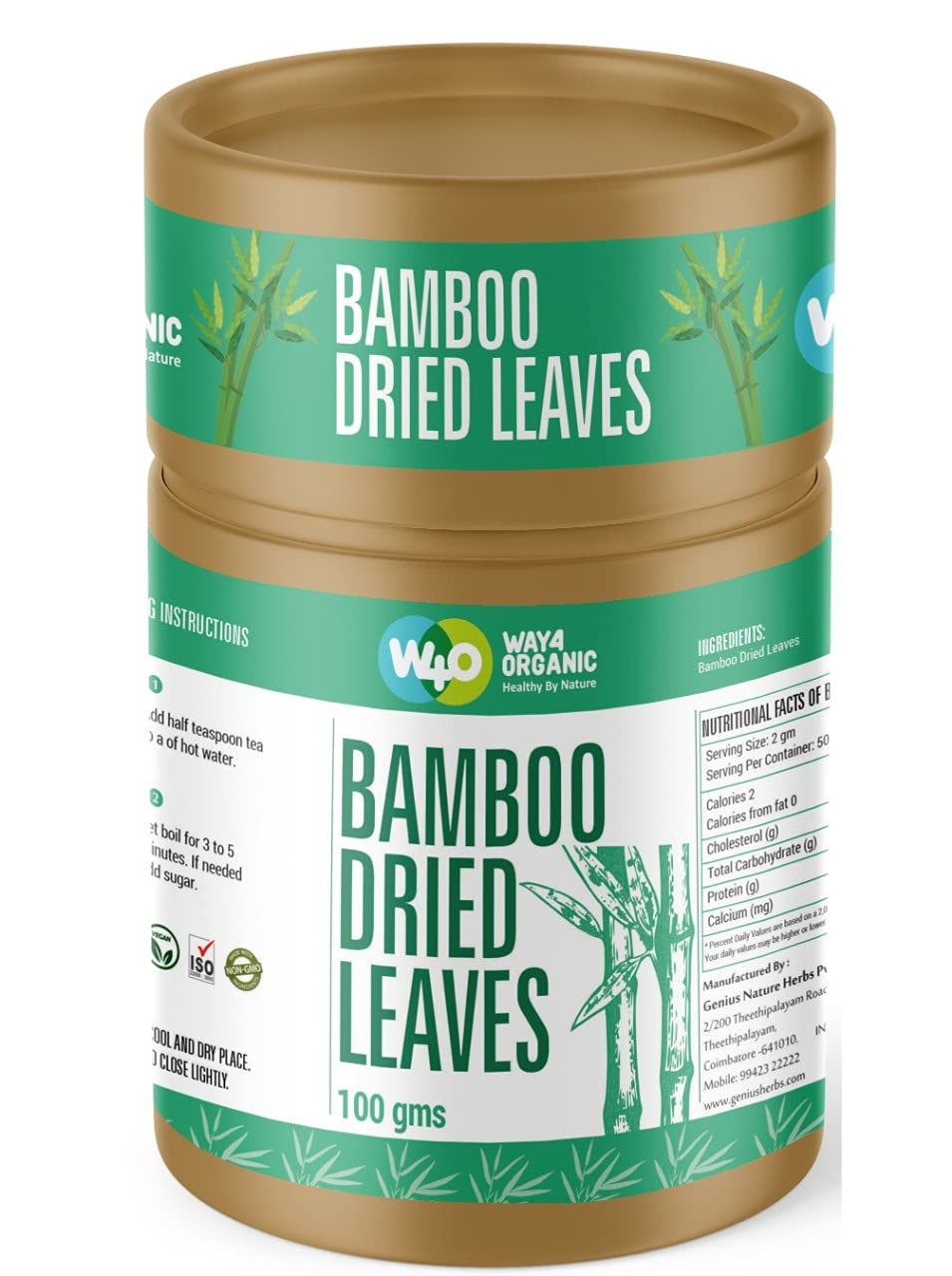 Way4organic Bamboo Dried Leaves