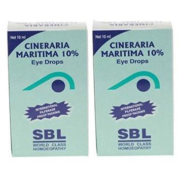 SBL Homeopathy Cineraria Maritima 10% Eye Drops
