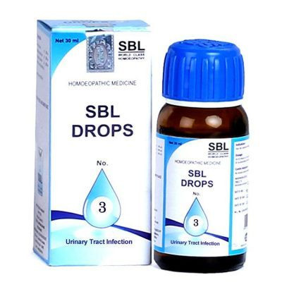 SBL Homeopathy Drops No 3 Urinary Tract Infection