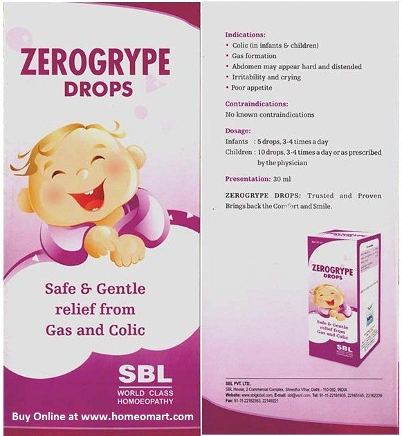 SBL Homeopathy Zerogrype Drops